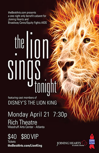 The Lion King benefit