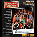 University of Michigan 2013 College Cabaret at Broadway Sessions